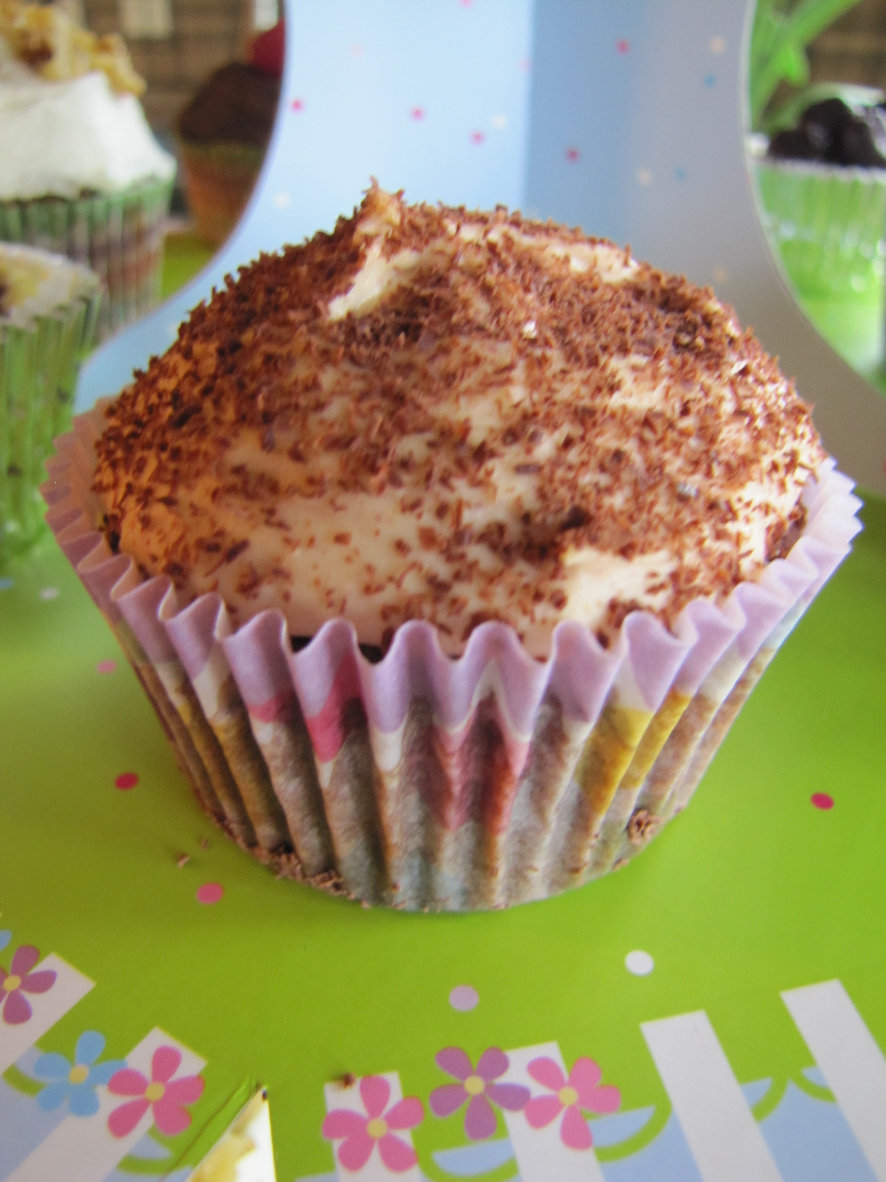 Cupcakes cupcakes cupcakes simply living healthy for Chocolate fudge cream cheese frosting