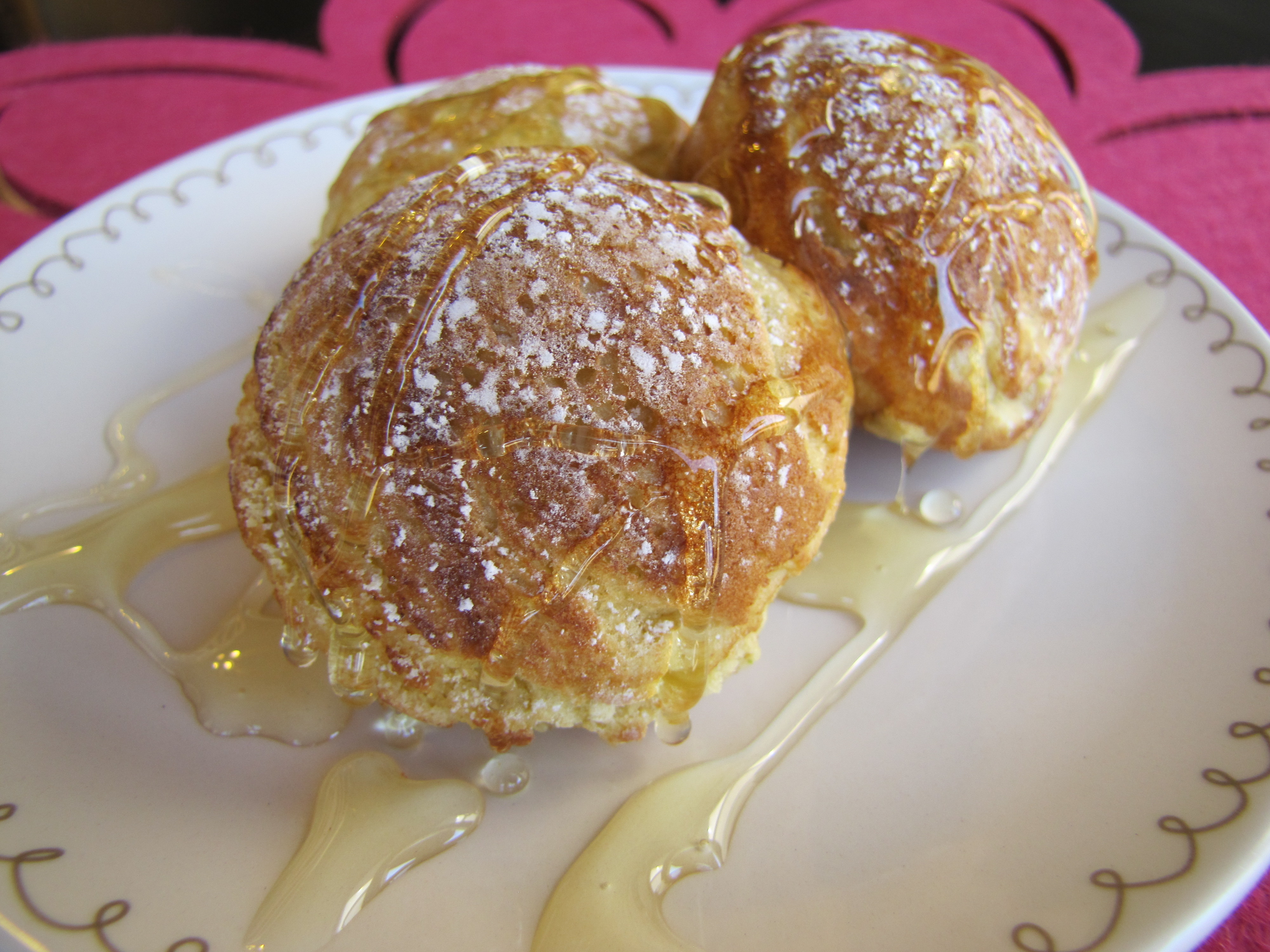 coconut flour aebleskivers simply living healthy