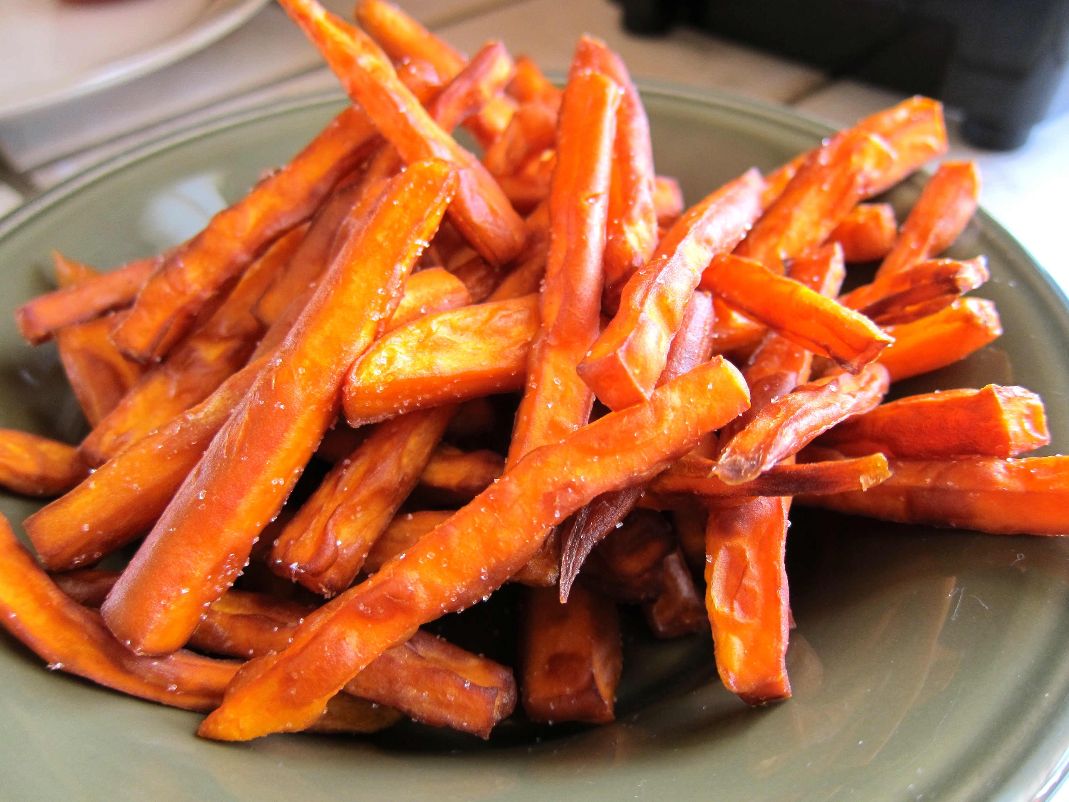 Crispy Sweet Potato Fries – Simply Living Healthy