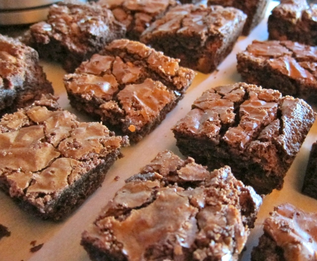 Double Chocolate Peanut Butter Chip Brownies 2